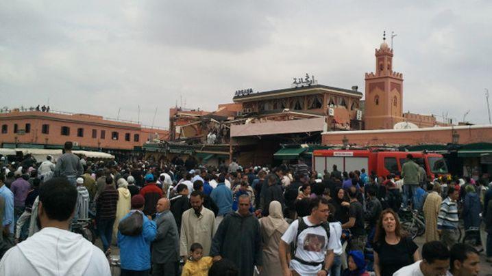 Marokko: Viele Menschen sterben bei Explosion in Café