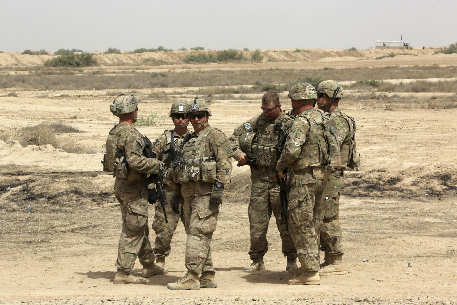 USA/Irak/Ausbilder