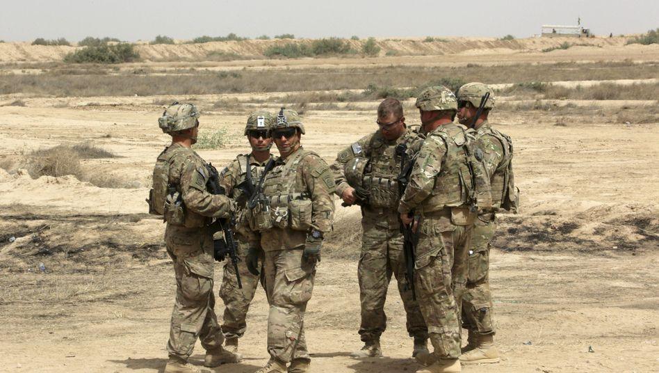 """US-Ausbilder im Irak: """"Wir möchten, dass mehr Sunniten kommen"""""""