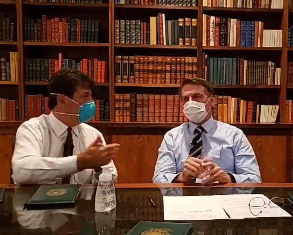 Bolsonaro being tested for coronavirus but has not shown symptoms, Brasilia, Brazil - 12 Mar 2020