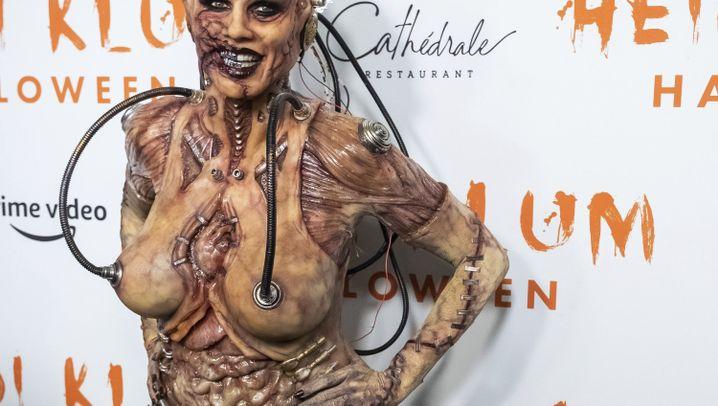 Heidi Klum an Halloween: Einfach außerirdisch