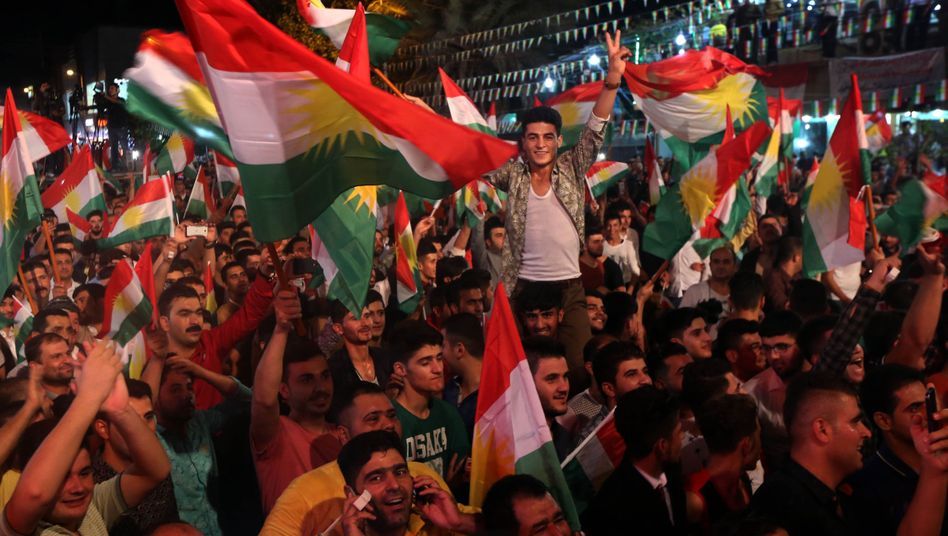 Kurden im Irak vor dem Unabhängigkeitsreferendum