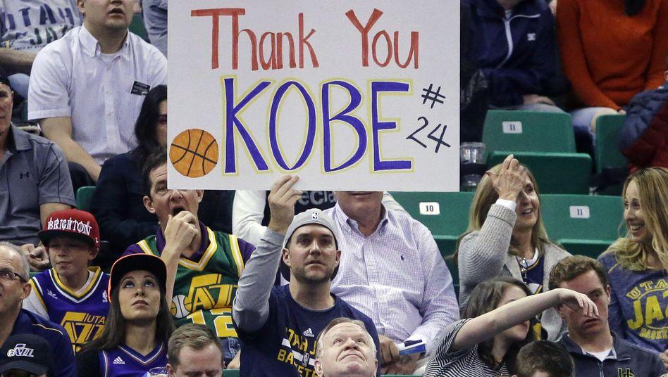 Danke, Kobe. Auch beim Allstar-Game der NBA wird der Tod des Superstars den Abend prägen