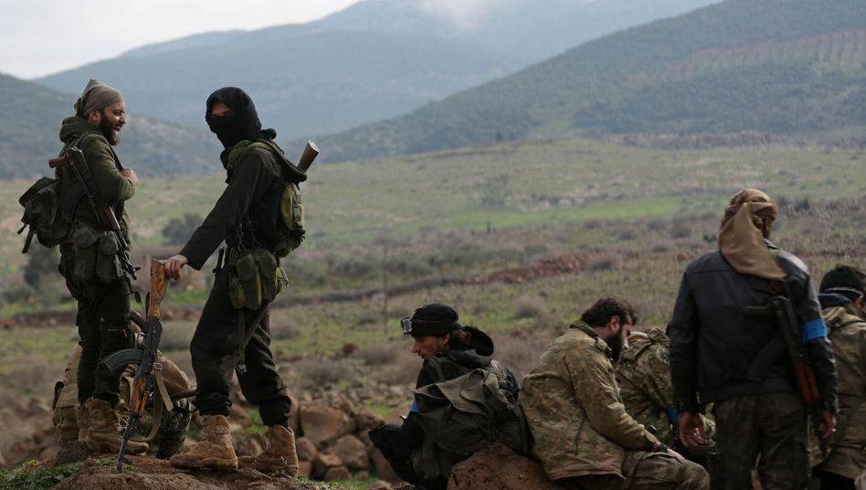 Von der Türkei unterstützte Kämpfer der Freien Syrischen Armee