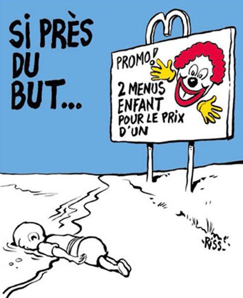 Umstrittene Charlie-Hebdo-Karikatur