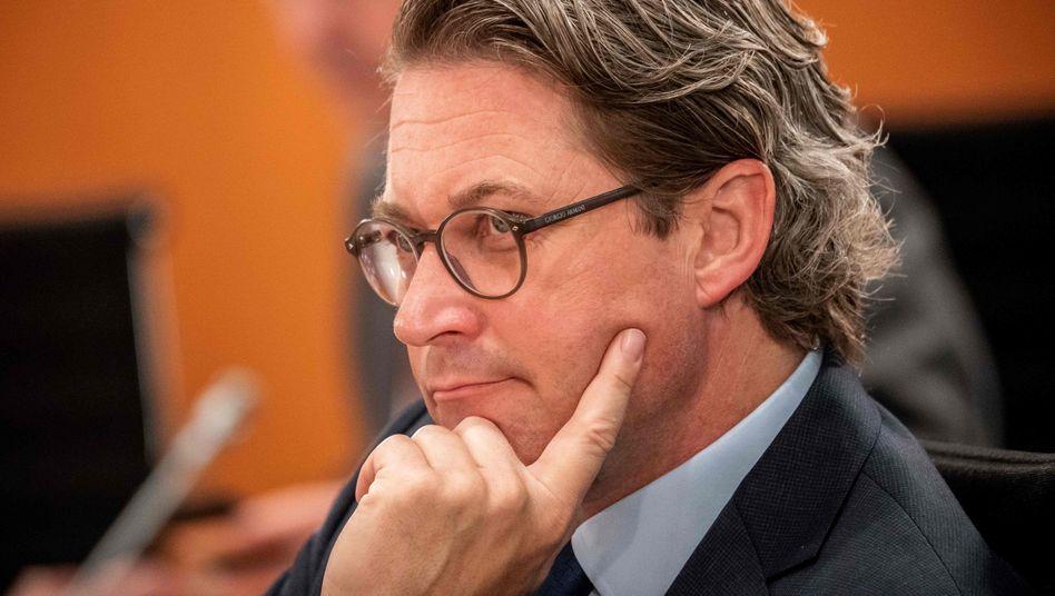 Bundesverkehrsminister mit beeindruckendem Pannenportfolio: Andreas Scheuer