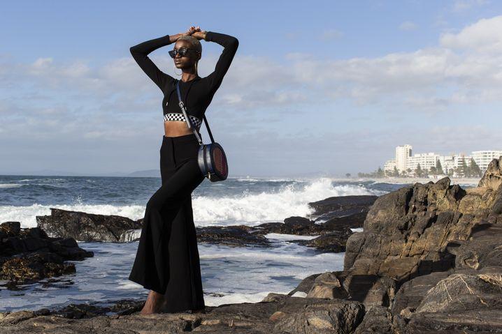 Vanessa Kilem Anfang 2019 am Strand von Kapstadt: Manchmal fühlt sie sich wie eine Sklavin