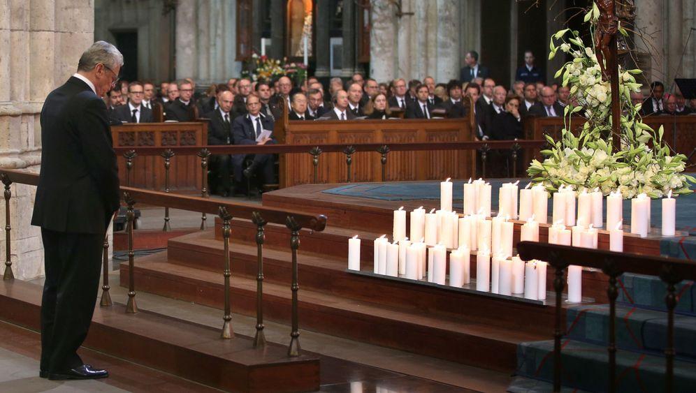 Germanwings-Absturz: Trauerfeier im Kölner Dom