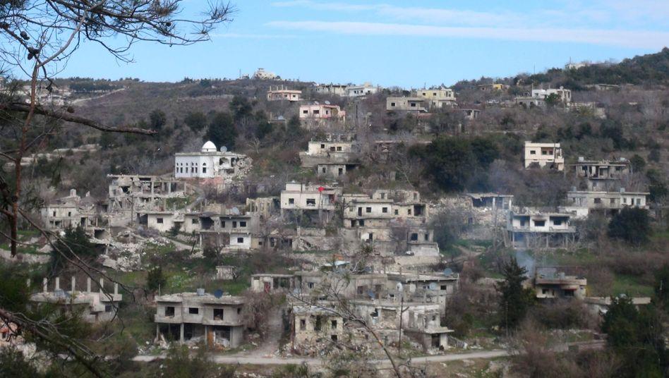 Grenzstadt Latakia: Russen helfen offenbar den Soldaten der syrischen Regierung
