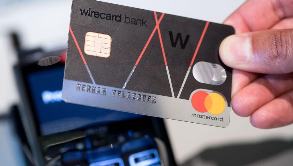 Wirecard-Kreditkarte (Archiv)