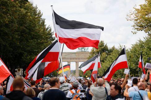 Demonstration am 29. August in Berlin