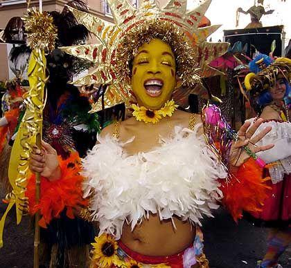 """Mardi Gras in New Orleans: Trubel im """"verdorbenen, giftigen, stinkenden Sündenpfuhl"""""""
