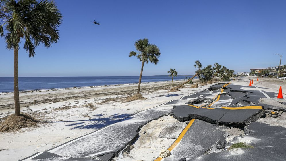 """Hurrikan in den USA: """"Michael"""" traf die Küste mit voller Wucht"""