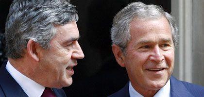 """Brown, Bush: """"Danke für die tiefe Freundschaft"""""""