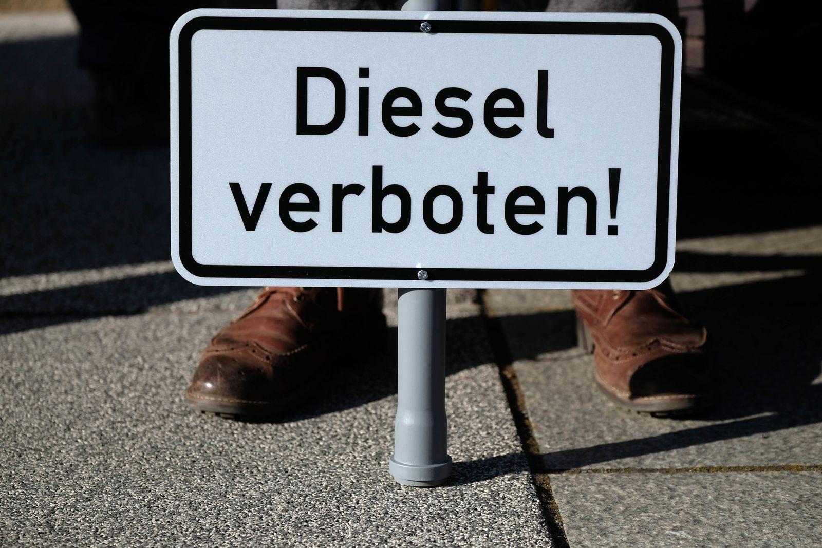 Dieselverbot/ Bundesverwaltungsgericht verhandelt über Diesel-Fahrverbote