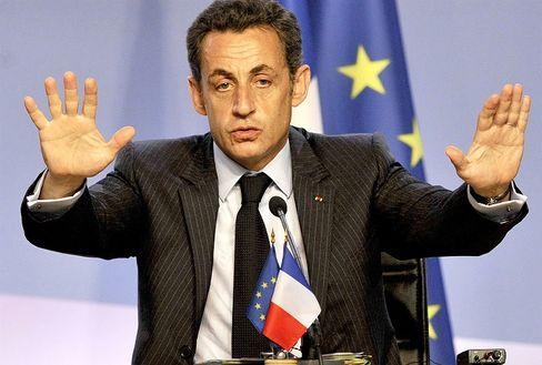 French President Nicolas Sarkozy: Not so fast, Turkey.