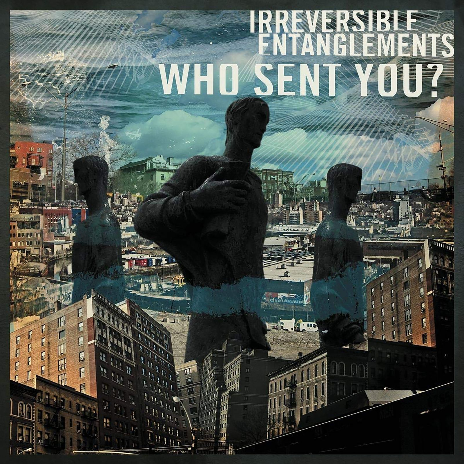Abgehört/ Irreversible Entanglement: Who Sent You? COVER
