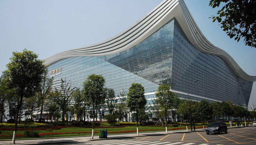 Gigantismus in China: Das 1,7-Millionen-Quadratmeter-Haus