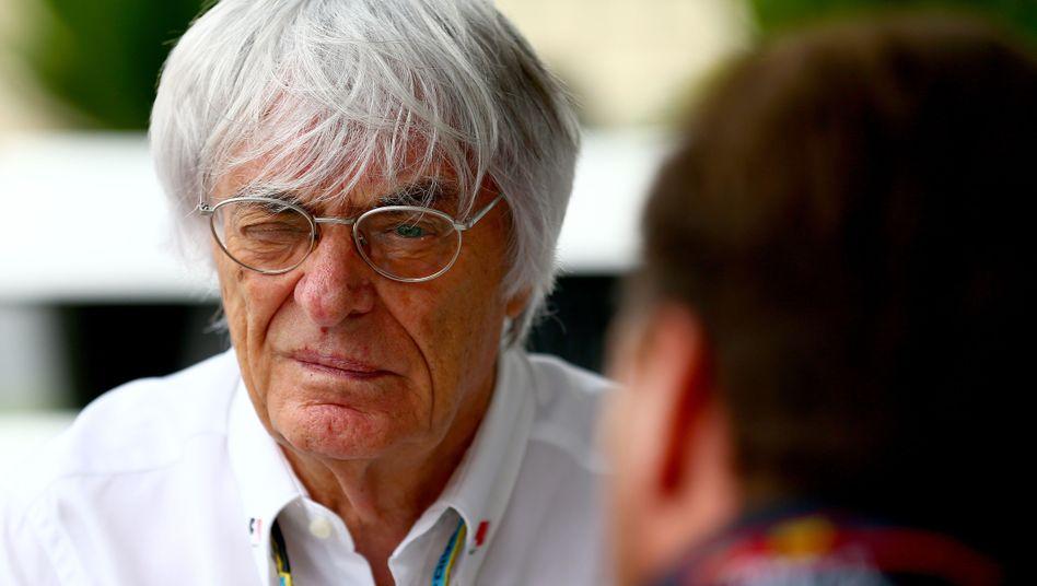 Formel-1-Boss Ecclestone: Der Verteilungsschlüssel ist reine Willkür