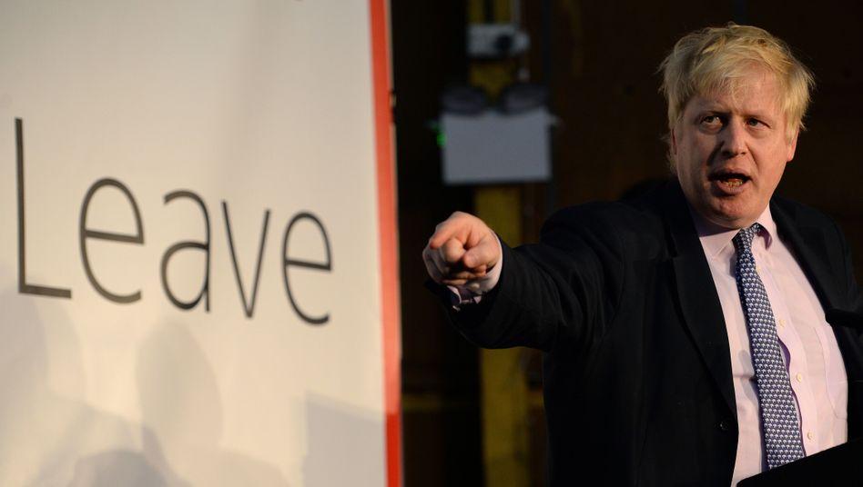 Britischer Premier Johnson: EU soll den No-Deal auslösen