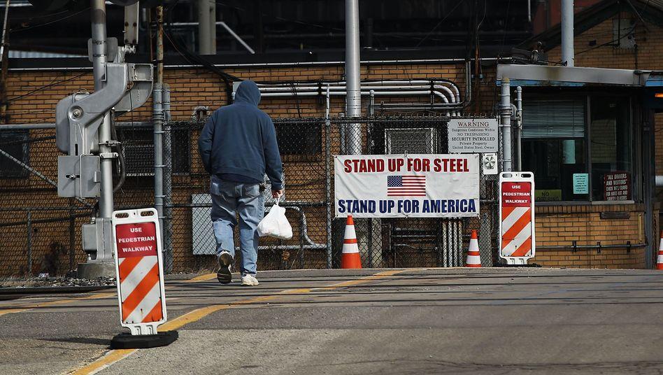 Stahlwerk in Pennsylvania