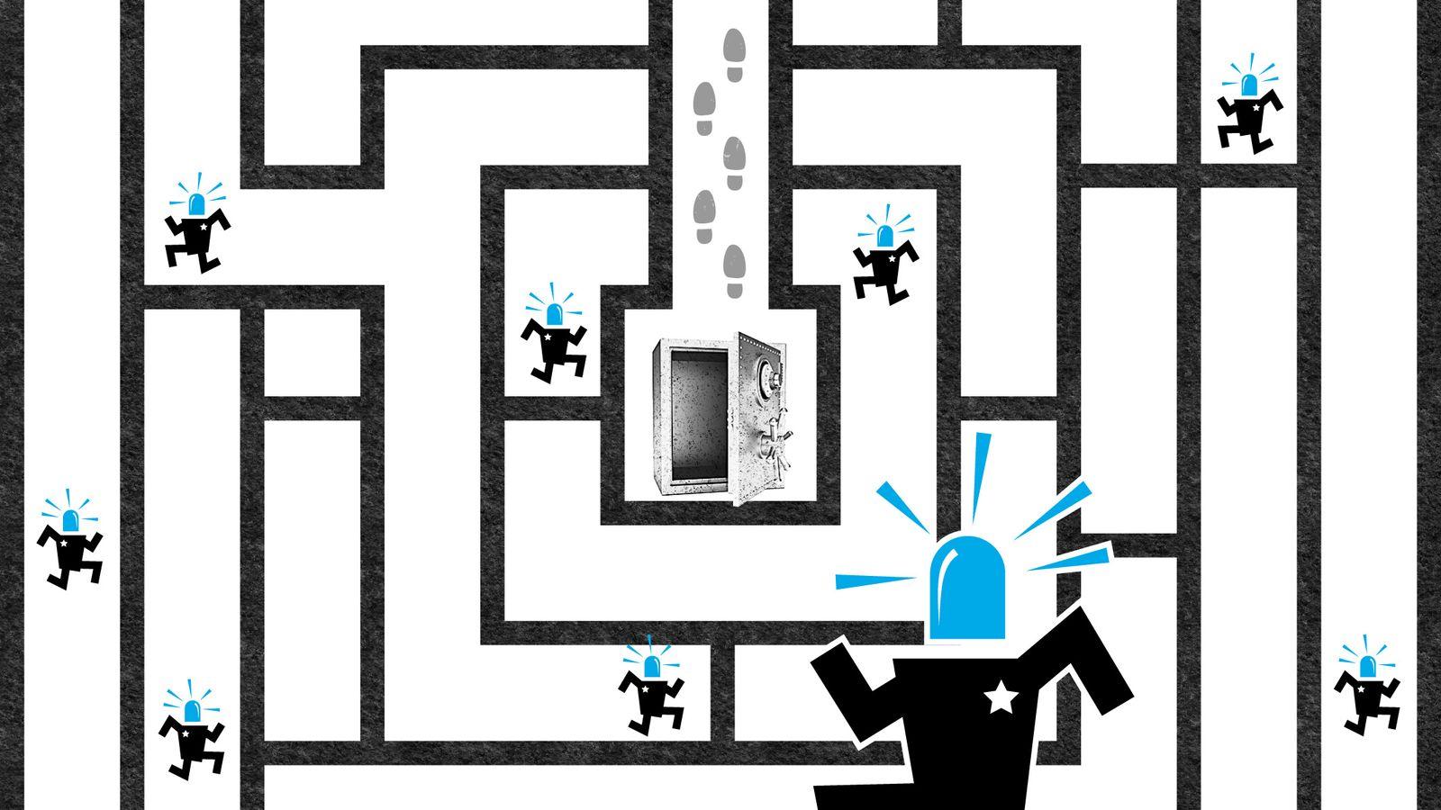 EINMALIGE VERWENDUNG Serie Cybersicherheit