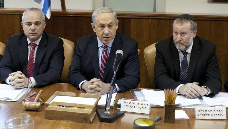 Benjamin Netanjahu: Israels Premier kritisiert den Atom-Deal von Genf