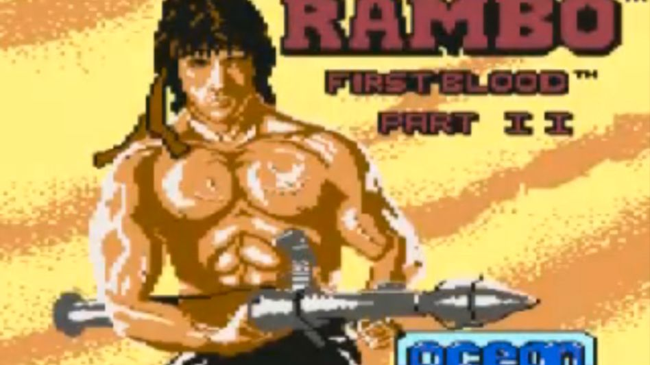 Rambo auf dem Commodore C64