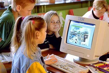 """Kinder am Computer: """"Sie wollen von sich aus viel wissen"""""""