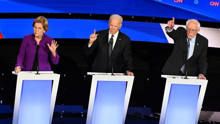 Biden, Sanders, Warren und Co.: Die verbliebenen Bewerber der Demokraten