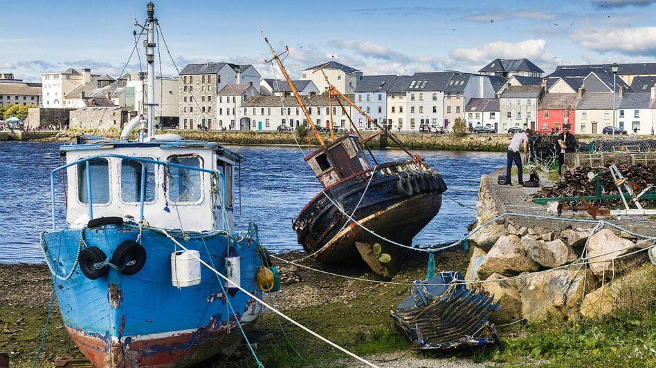 Hafen im irischen Galway: Setzen sich die USA durch, droht der Verlust von Konzernzentralen und Tausenden Jobs