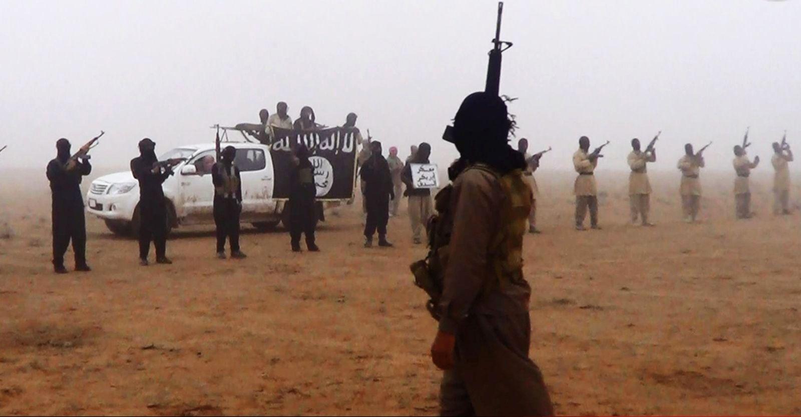 Dschihadisten / Grenze Irak Syrien