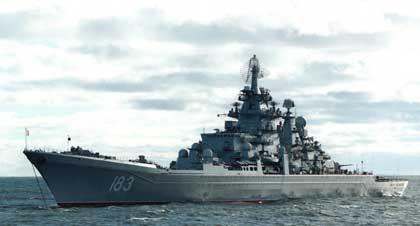 "Marodes Flaggschiff: Der Raketenkreuzer ""Peter der Große"""