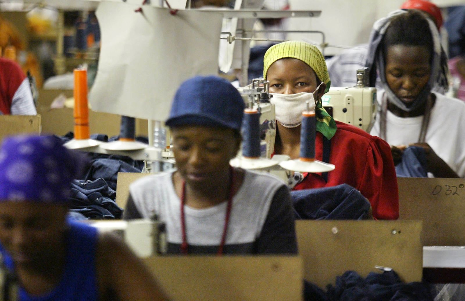 Lesotho / Textil / Textilwirtschaft