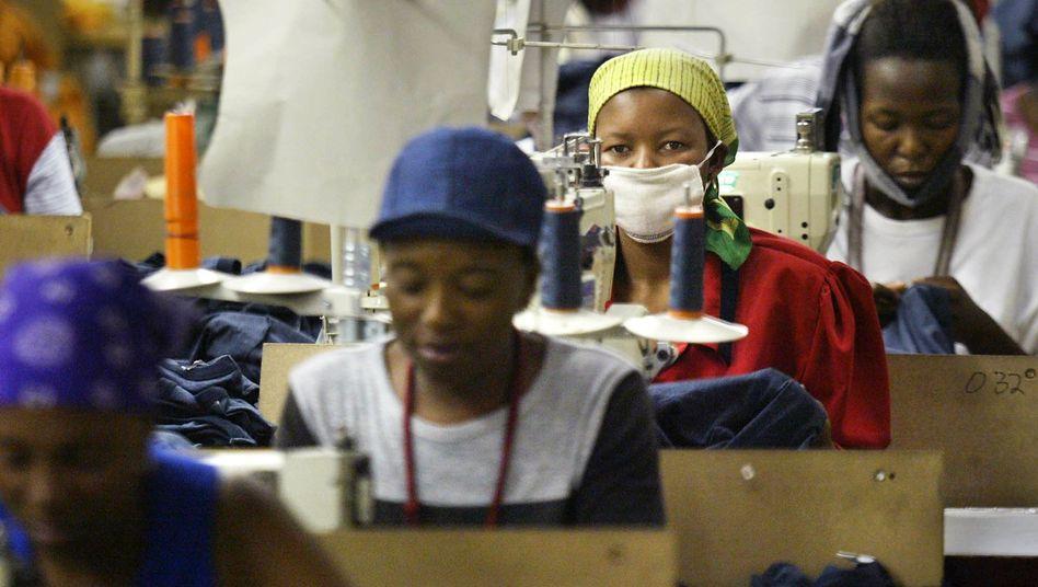 Textilarbeiter in Lesotho: Erfolg in der Nische