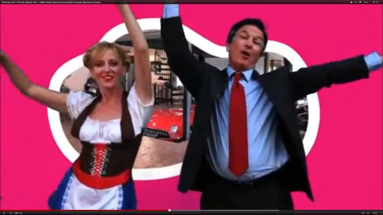 NUR ALS ZITAT Romney-Girl / Screenshot