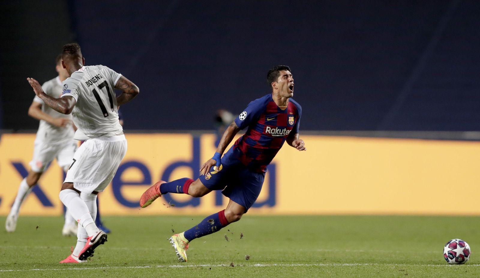 Barcelona vs Bayern Munich, Lisbon, Portugal - 14 Aug 2020