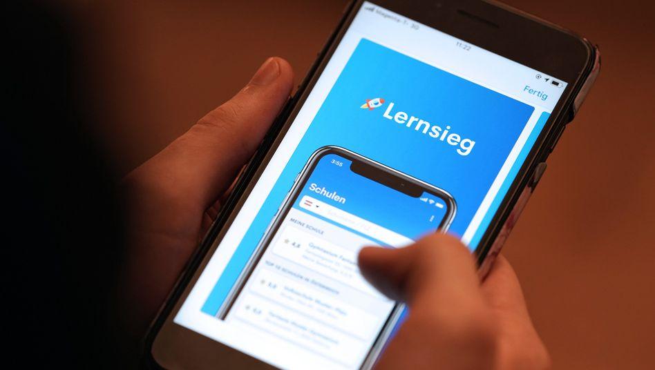 Nach vier Tagen im Netz abgeschaltet: Die Bewertungs-App Lernsieg