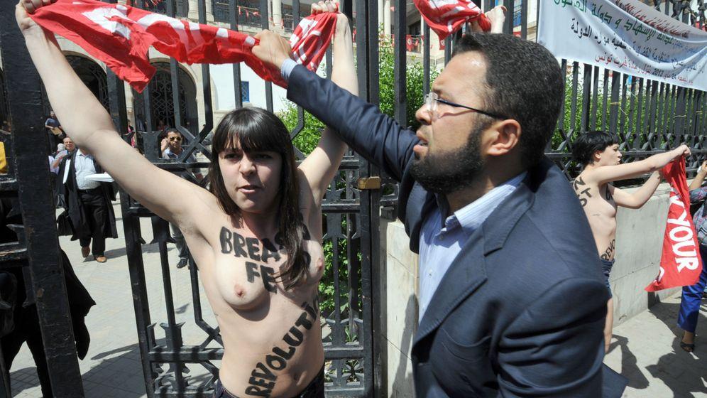 Tunesien: Feministin gegen Femen