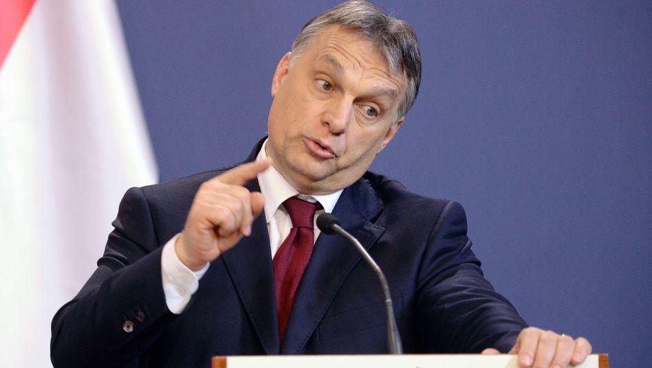 """Regierungschef Orbán (Februar 2015): """"Auf der Tagesordnung behalten"""""""