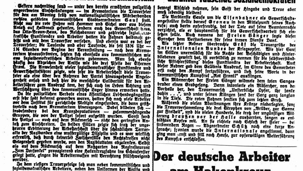 Sozialdemokratie: Die aufrechten Roten von Königsberg