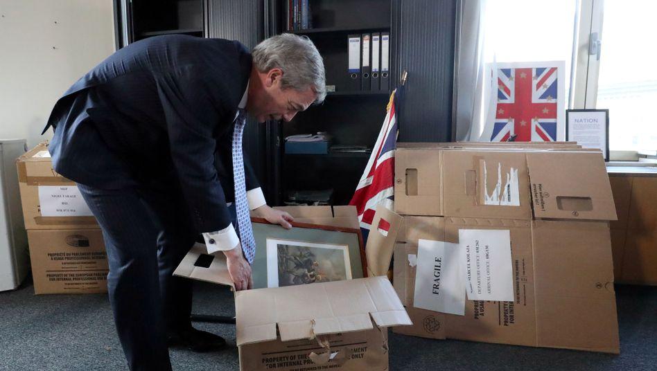 Brexit-Parteichef Nigel Farage: Sonderweg seit tausend Jahren