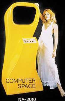 Echt spacig: 1969 brachte der spätere Atari-Gründer Norman Bushnell seinen ersten Videospiel-Automaten in die Spielhallen