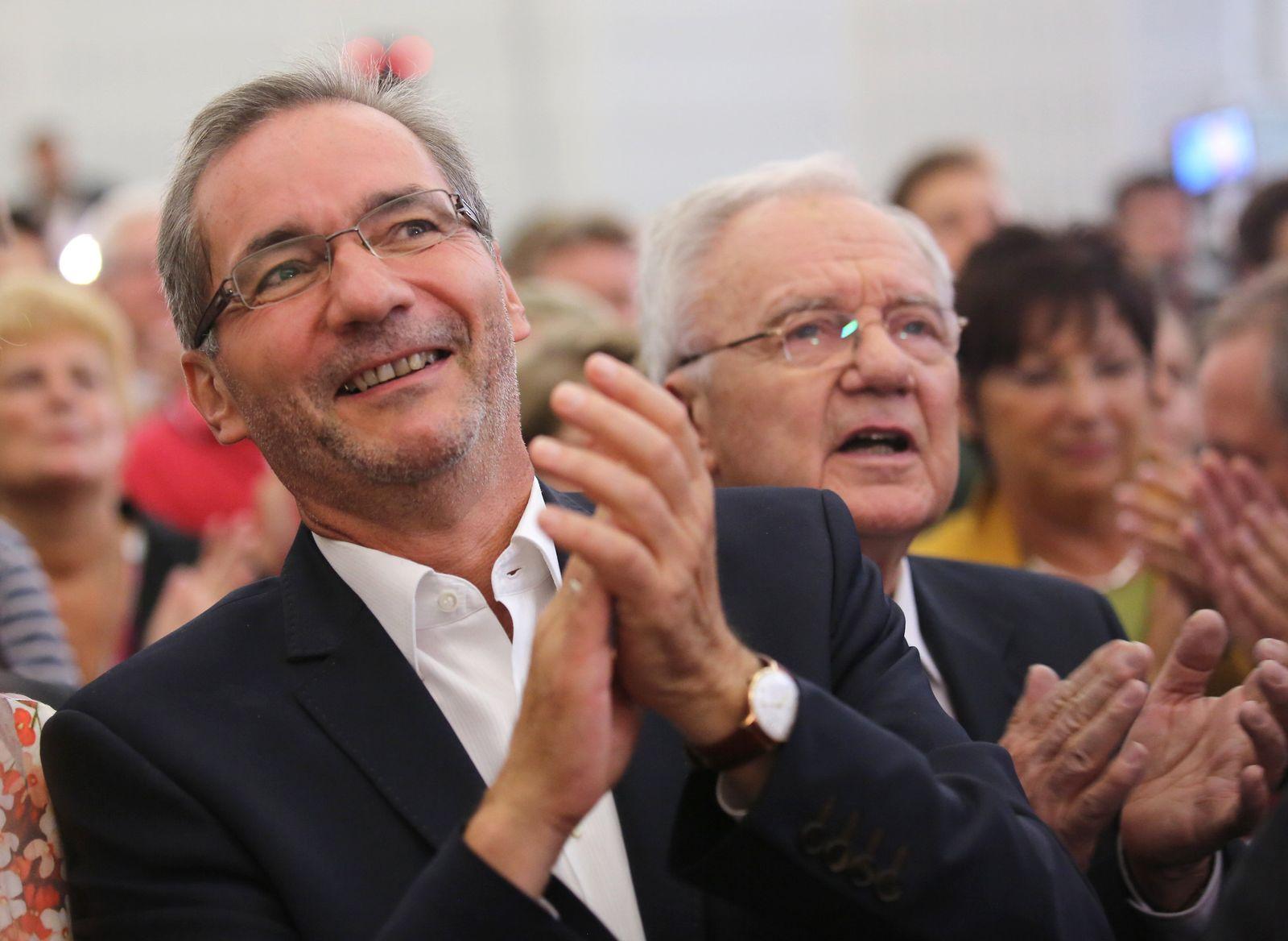 Landtagswahl Brandenburg/ Platzeck & Stolpe