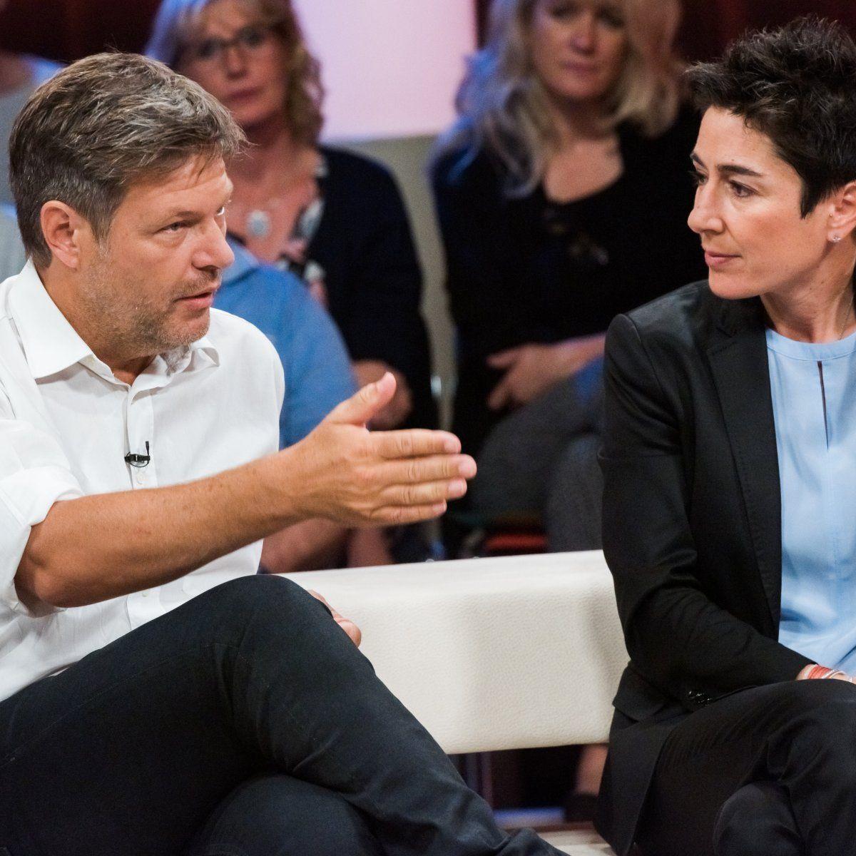 ZDF Dunja Hayali Habeck