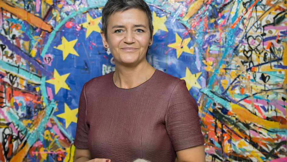 European Commissioner for Competition Margrethe Vestager.