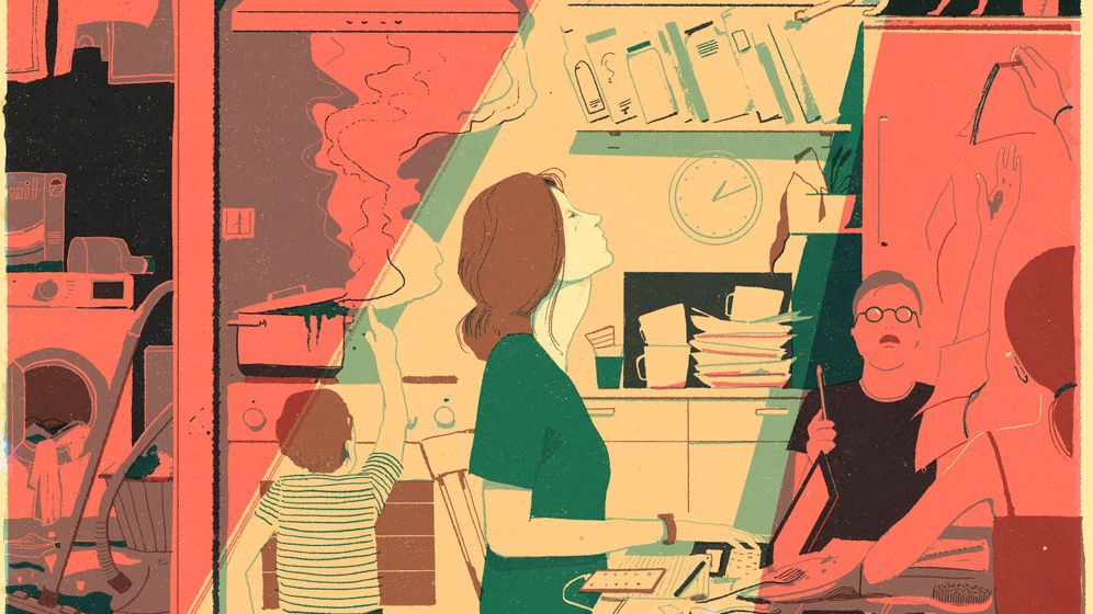 »Wir Frauen mussten Lehrerinnen, Spielkameradinnen und Therapeutinnen für unsere Kinder sein«