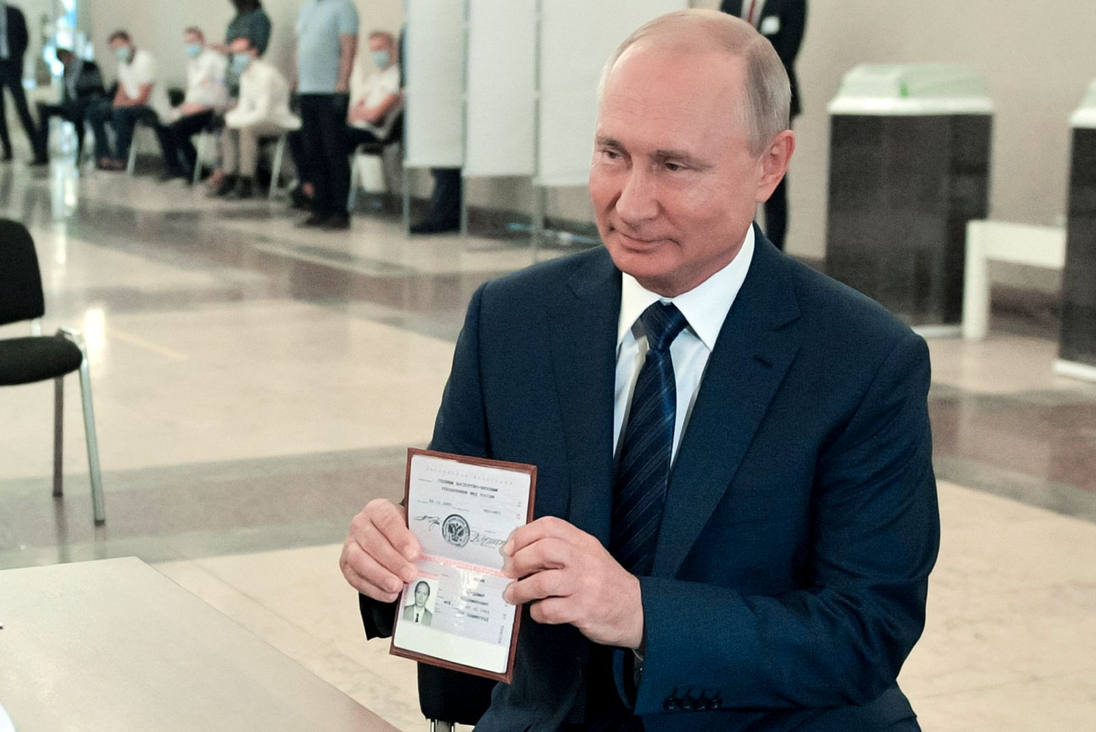 Abstimmung über Verfassungsänderung in Russland