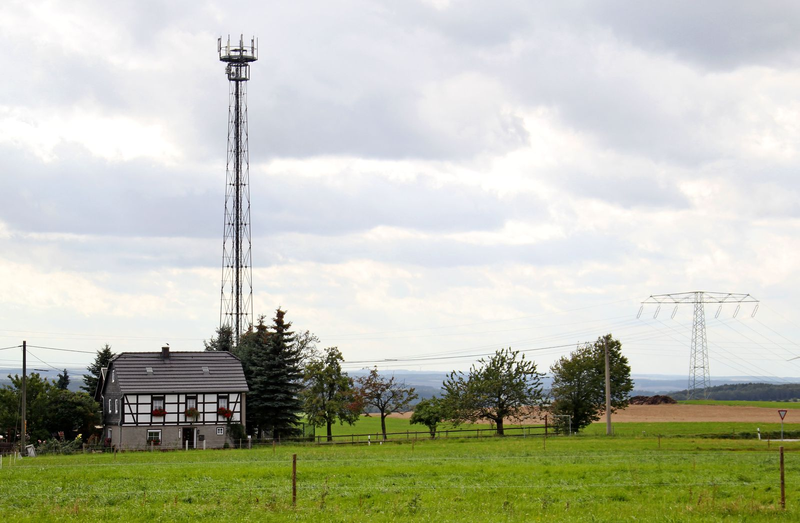 Mobilfunk auf dem Land
