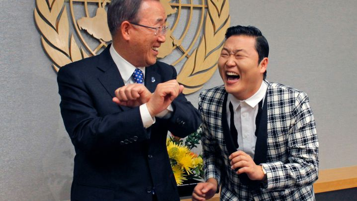 Zu Gast bei Ban Ki Moon: Von Springern und Reitern